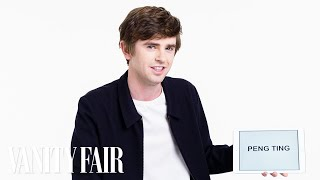 Freddie Highmore Teaches You British Slang | Vanity Fair