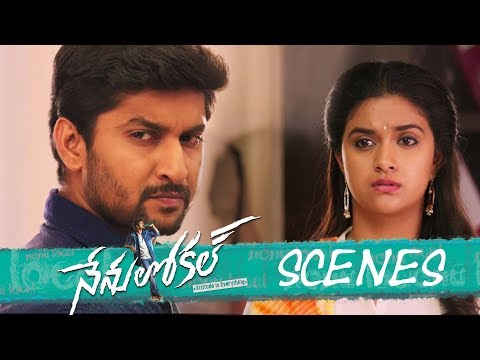 Nenu Local Movie - Police Station Scene - Nani, Keerthy Suresh