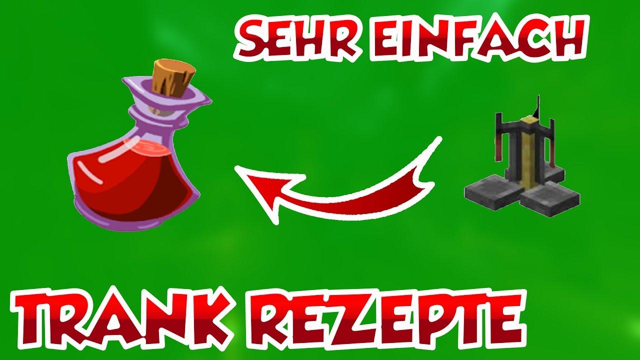 MINECRAFT TRÄNKE BRAUEN REZEPTE [DEUTSCH] - YouTube