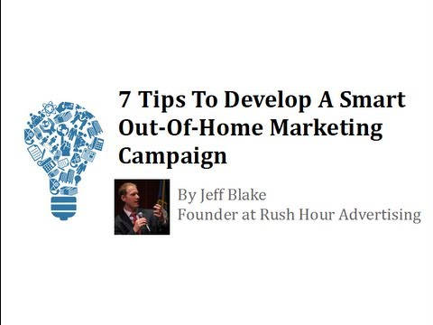 """Out-Of-Home Advertising Tips"" by Jeff Blake MLVC Preview"
