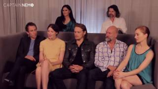 Outlander: Preview at Comic Con 2014 - TVLine [RUS SUB]