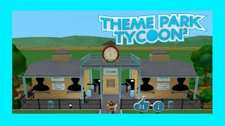 Roblox Theme Park Tycoon 2 Entrée! (Speed Build)