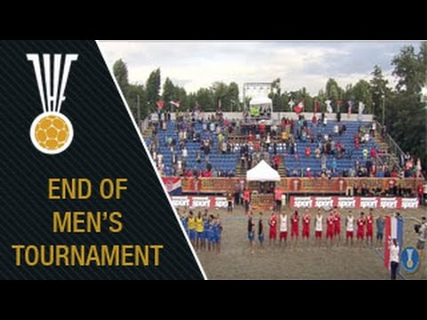 Men's Final at the IHF Beach Handball World Championship - Hungary 2016