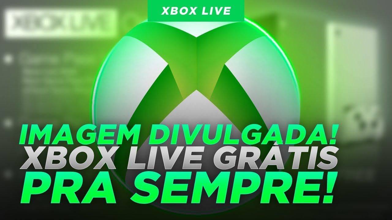 BOMBA! XBOX LIVE GRÁTIS PRA SEMPRE é possível ENTENDA COMO PODE ACONTECER!