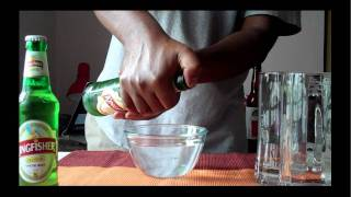 Draining Glycerin from Beer thumbnail