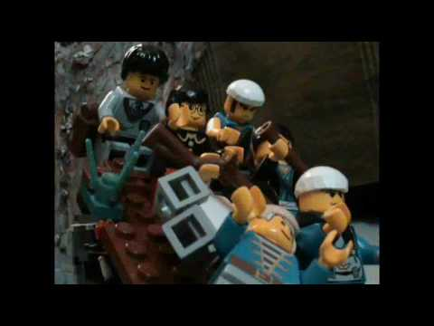 Peter Jacksons King Kong - The Swamp Scene (Lego Animation)