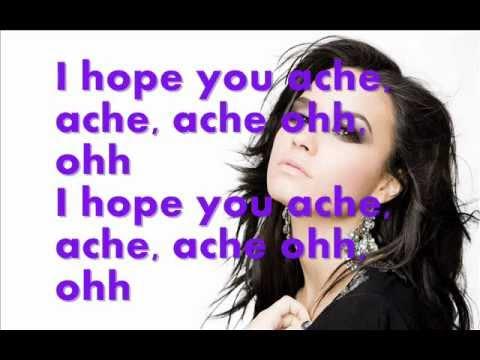 Demi Lovato - Mistake [Karaoke]