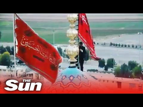 Iran vows revenge as it unfurls red flag of WAR after America executed General Soleimani