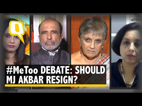 #MeToo: Should MJ Akbar Step Down As Minister? | The Quint