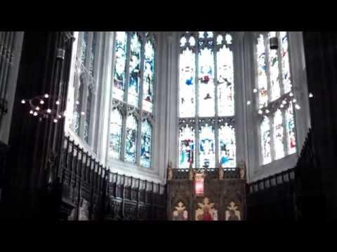 Interior St. John's Church Edinburgh Scotland