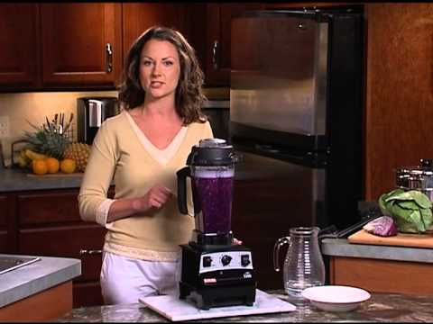 Vitamix 06 - Wet Chopping (Cabbage For Slaw; Salsa)