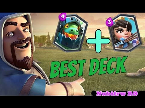Clash Royale 4 Best Inferno Dragon And Princess Deck For Arena 7 Youtube