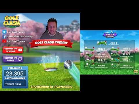 Golf Clash, Tournament Reveal - MOUNTAIN Tournament! Starts 12th of November!
