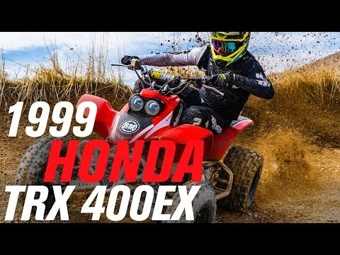 1999 Honda TRX 400EX ATV Build