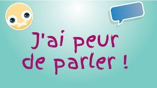 tas peur de parler en français ?