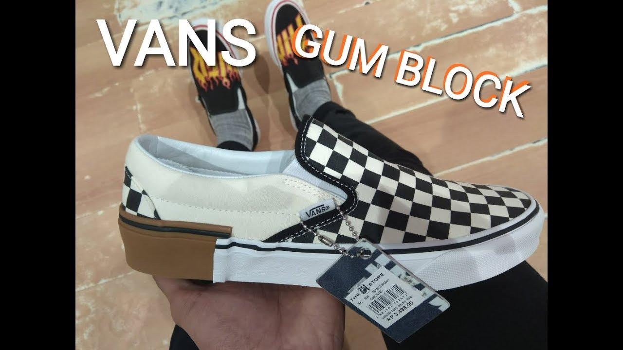 eec2972586d Vans gum block youtube jpg 1280x720 Block gum