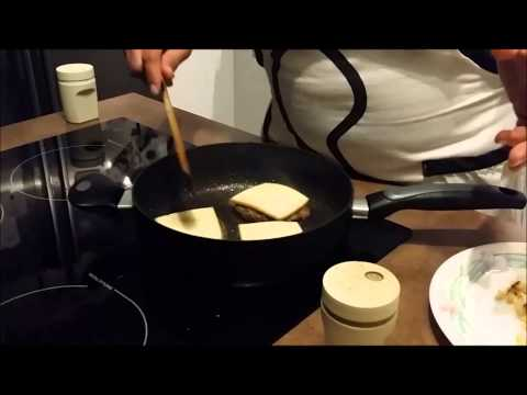 """Sandwich """"américain"""" avec raclette (french version) V2"""