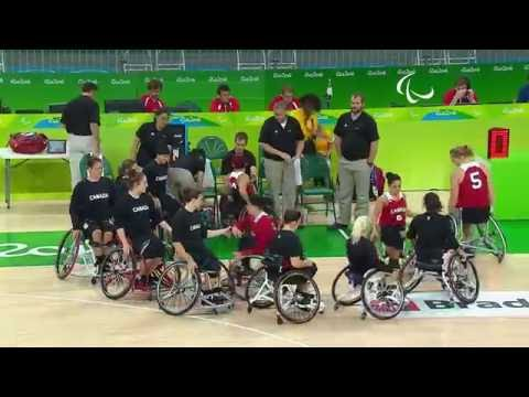 Wheelchair Basketball | Germany vs Canada | Women's preliminaries | Rio 2016 Paralympic Games