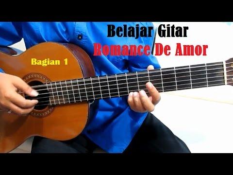 Romance De Amor Bagian 1 - Belajar Gitar Klasik Untuk Pemula