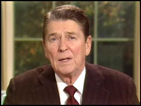 President Reagan's Address to the Nation on the Iran-Contra Controversy,  November 13, 1986 - YouTube