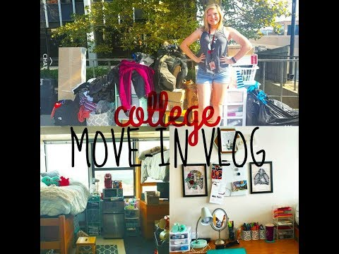 MOVE-IN DAY VLOG 2017 | College Freshman | University of Cincinnati