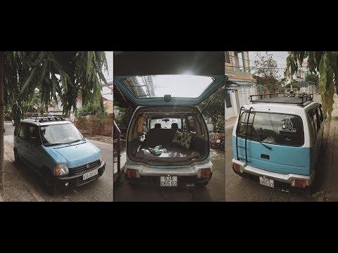 Độ Xe Suzuki Wagon R 2003 | 4x4 Micro Camper Car Suzuki Wagon R 2003 🚙 ✔