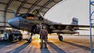 Marines EA-6B Prowlers Deploy To Middle East • Farewell