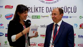 BİM CEO'su Galip Aykaç 3. Private Label Zirvesi'nde görüşlerini bildiriyor