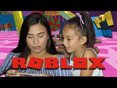 DAUGHTER TEACHES ME HOW TO PLAY ROBLOX