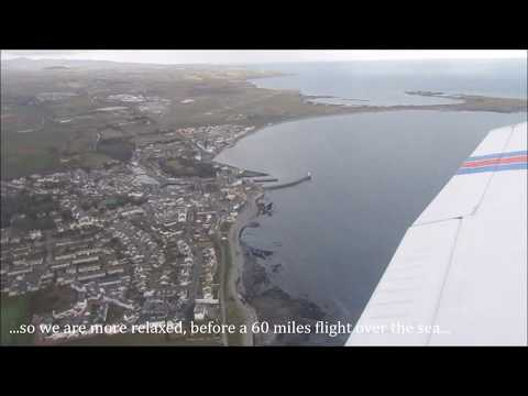 Pa28VLOG Flight Isle of Man to Manchester Barton, blind landing on R26 with ATC