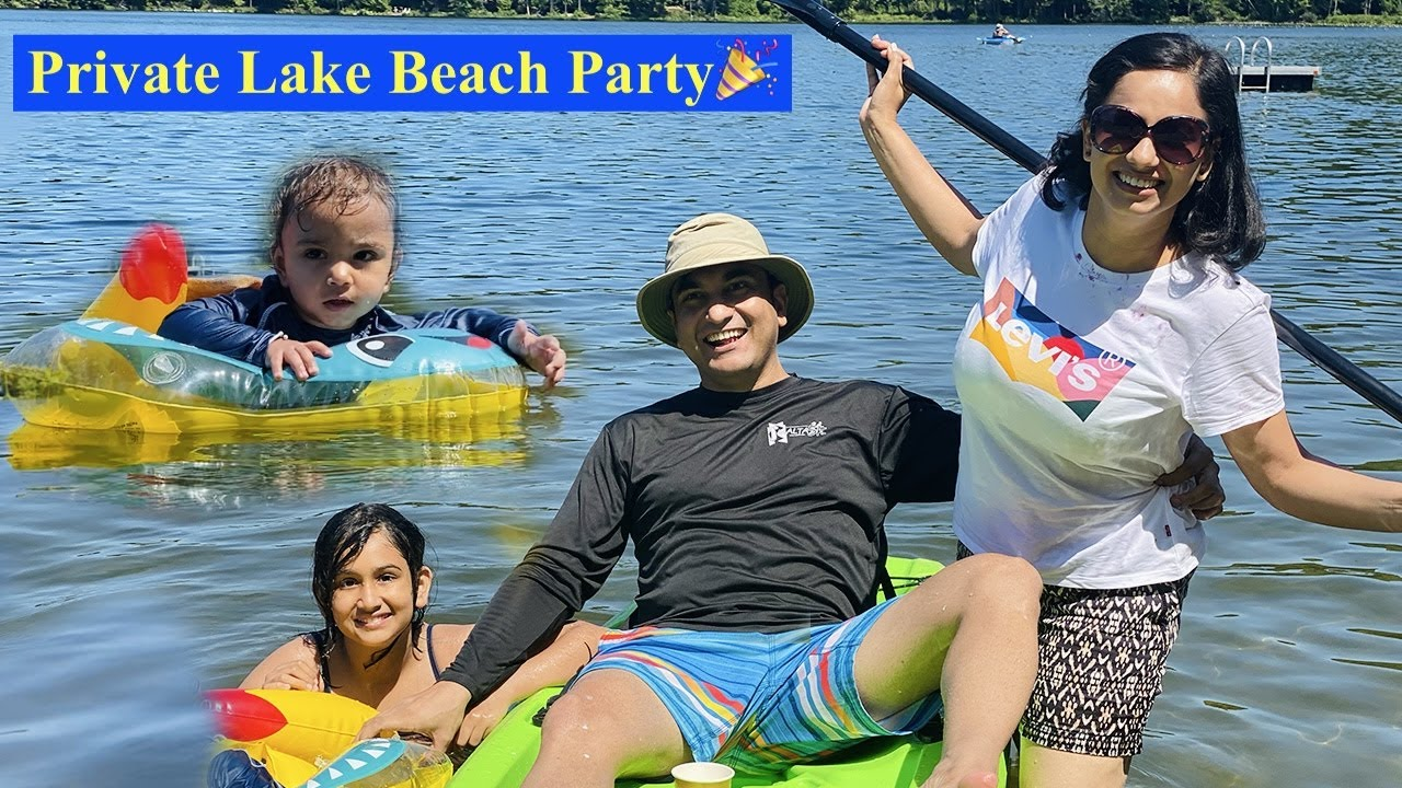 Private Lake Birthday Party in New York | Vlog 39 | Lalit Shokeen