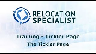 Training Videos - The Tickler Page