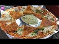 मुंबई का बेस्ट डोसा? Best Cheese Dosa Of Mumbai - Anand Dosa Stall - Indian Street Foods - Food Vlog