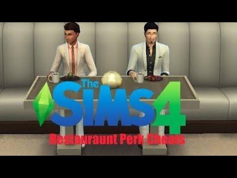 Sims 4: Restaurant Perk Cheats