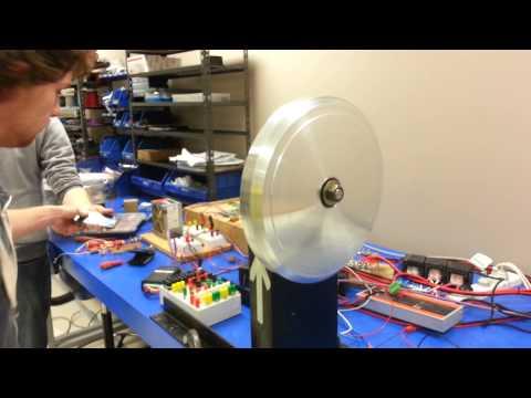 UWS Solar Car Motor Running