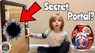 I Mailed Myself to Ryan ToysReview through a Portal Secret Door and it worked!! Skit