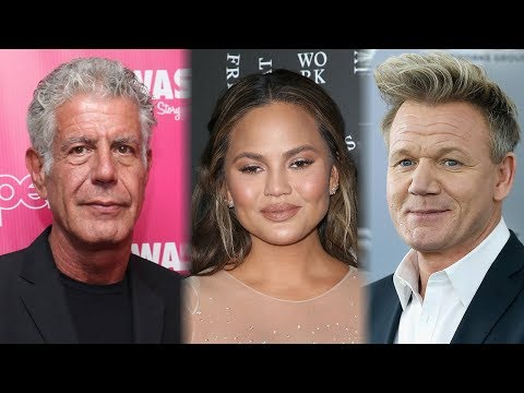 Celebs React To Famous Chef Anthony...