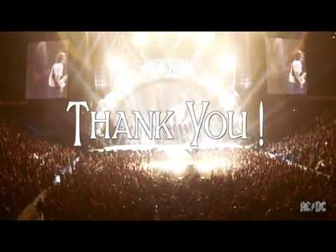 AC/DC - Rock or Bust World Tour - Thank You