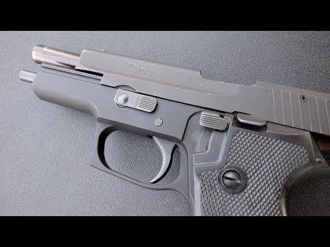 実弾射撃 シグ P220 自動式拳銃 (SIG Sauer P220 Auto Pistol)