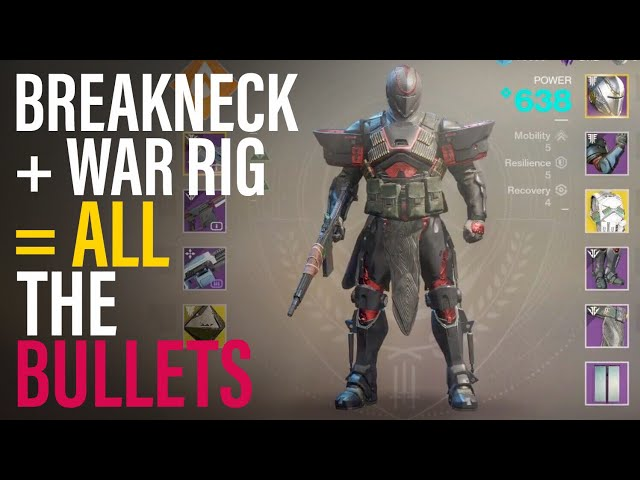 This Build is TOO Fun! All The Bullets Build - Black Armory Destiny 2