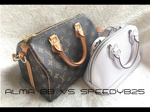 1693288bd70c Louis Vuitton ALMA BB vs SPEEDY B 25