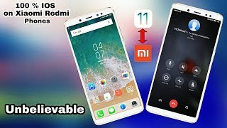 100% IOS on Xiaomi Redmi Phones without root |Iphone x/ios 11 in Redmi Phones |ft. Redmi Note 5 Pro