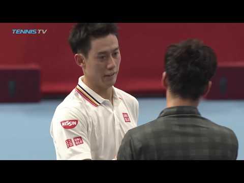 Nishikori, Raonic and Shapovalov advance   Tokyo 2018 Highlights Day 1