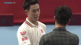 Nishikori, Raonic and Shapovalov advance | Tokyo 2018 Highlights Day 1