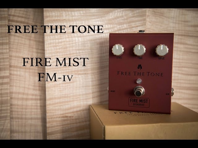 Free The Tone Fire Mist FM-1V by Guitars Rebellion