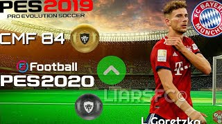 Official PES 2020 BAYERN MUNCHEN Players Overall Ratings(Konami Livestream)