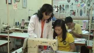 HTV7 giới thiệu khóa học Thiết kế thời trang tại Trường Quốc Thảo
