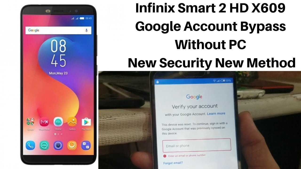 Without PC infinix x609 google account bypass 8 1 0 100%ok solution