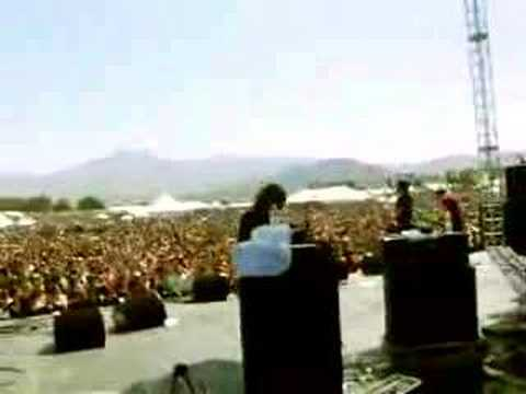 The Stills live at 2004 Coachella Festival