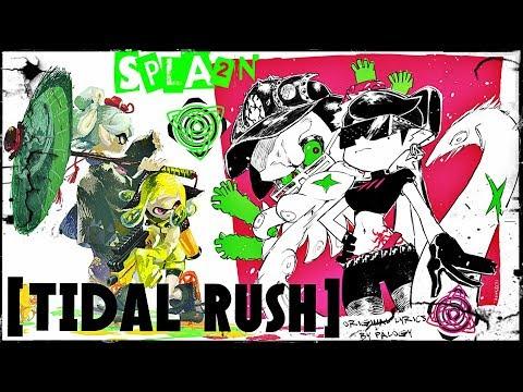 SPLATOON 2: [Tidal Rush] / (Final Boss Phase 2) + Original Misheard Lyrics Cover